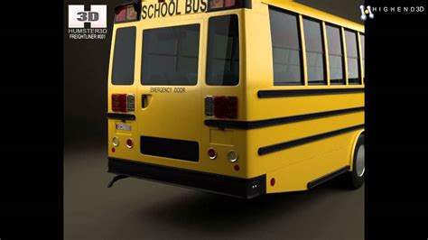 thomas minotour school bus   model  creativecrashcom youtube