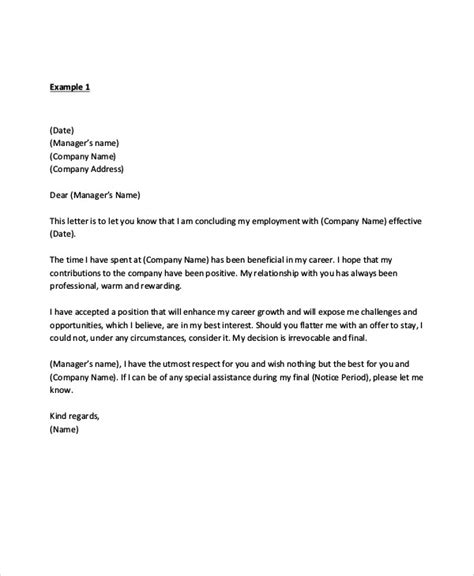sample manager resignation letters   apple pages