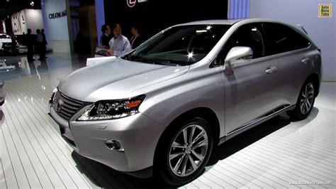 lexus rxh hybrid exterior  interior