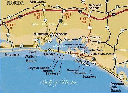destin florida map destin florida pet friendly beach