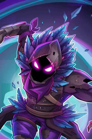 wallpaper raven fortnite battle royale