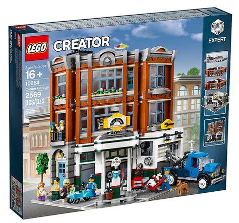 lego creator expert 2018 2019 lego modular building 10264 corner garage toys n bricks