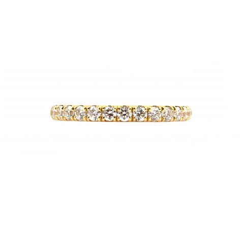 diamond yellow gold wedding band b23265 diamonds pearls perth