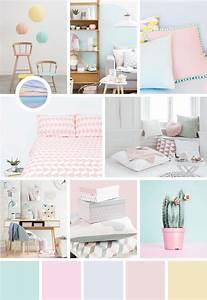 Des Couleurs Pastel : une dose d 39 inspiration aux couleurs pastel avec moodboard et palette pour les futures mamans ~ Voncanada.com Idées de Décoration