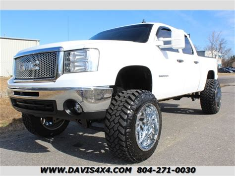 gmc sierra  slt lifted  crew cab short bed sold