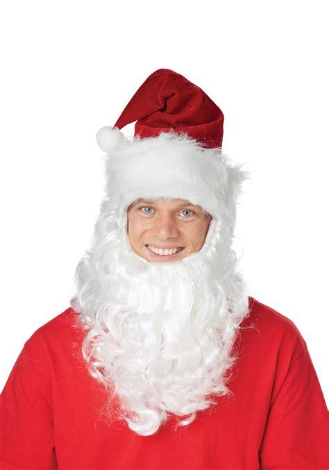 Santa Hat Wattached Beard