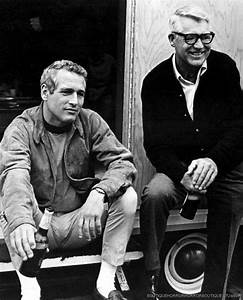 Cary Grant visits Paul Newman on the set of Winning (1969 ...