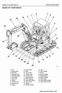 Takeuchi Excavators Tb153fr Service Repair Manual Pdf Download
