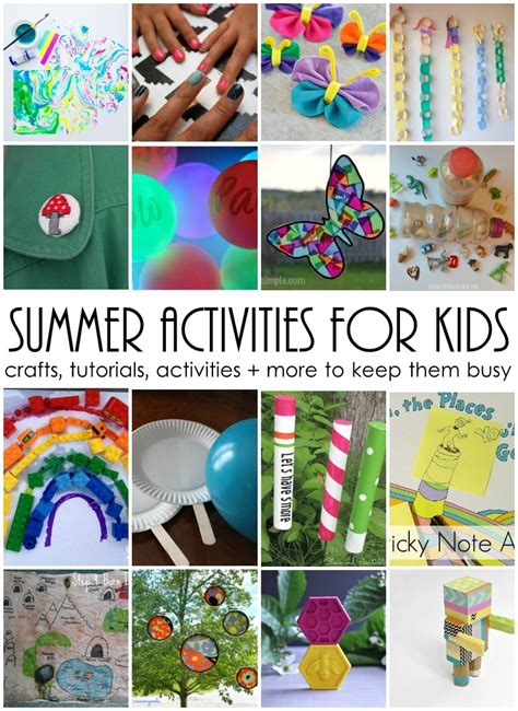Pieces By Polly Summer Activities For Kids And The Weekly Block Party Linkup