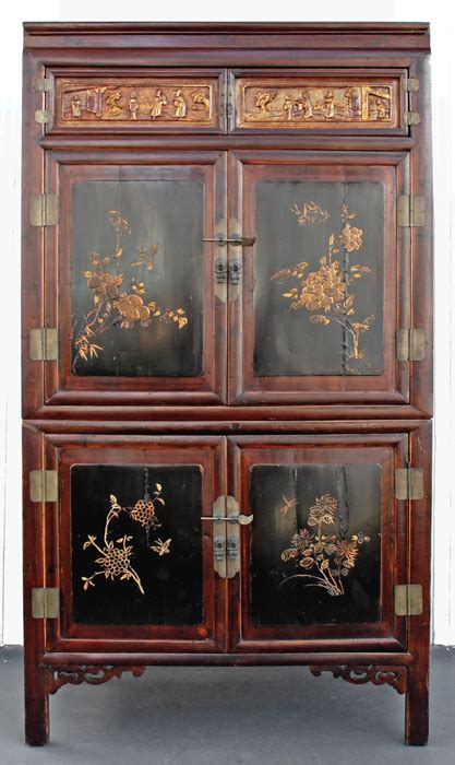 Japanese Armoire by Asian Antique Furniture Fujian Province China Antique