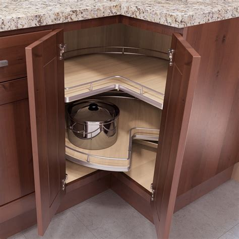 lazy susan cabinet door replacement vauth sagel recorner maxx kidney lazy susan 30 quot maple 9000