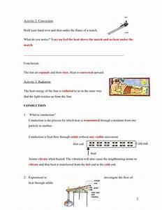 Heat Transfer  Heat Transfer Worksheet
