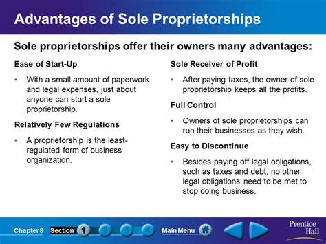 sole proprietorship form of business sole proprietorships what role do sole proprietorships