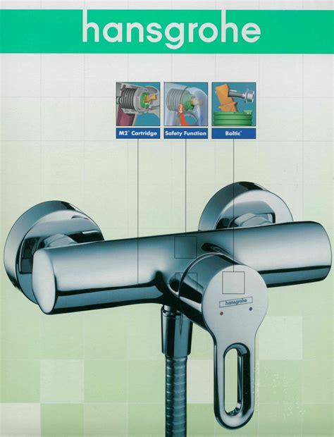 hansgrohe mischbatterie dusche hansgrohe einhand mischbatterie chrom dusche brause safety funktion industriedepot de