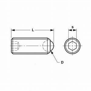 Socket Set Screws - Rolling Ball Tip
