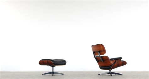 vitra charles eames lounge chair and ottoman in