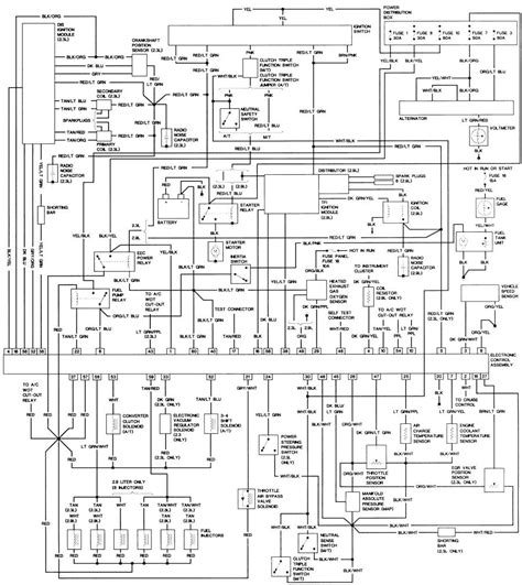 Ford Bronco Wiring Harnes Diagram by 1988 Bronco Fuel Injector Wiring Diagram Wiring Library