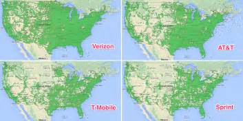 cell phone coverage map t mobile coverage map vs at t adriftskateshop