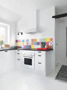 colorful kitchen backsplash 36 colorful and original kitchen backsplash ideas digsdigs