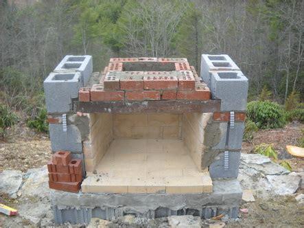 stunning outdoor fireplace construction details photos stoneblog living masonry