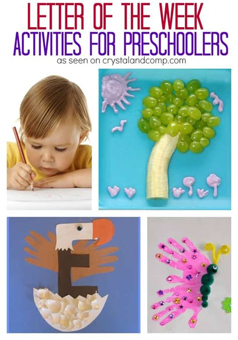 letter of the week activities for preschoolers 3 boys 651 | letter of the week