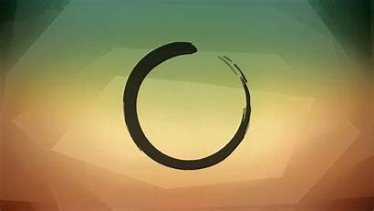 Zen Circle Buddhism Desktop Enso Garden Resolution
