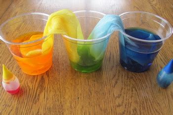 science experiments  preschoolers  rainbow