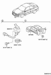 2002 Toyota Solara Cylinder  U0026 Key Set  Ignition With