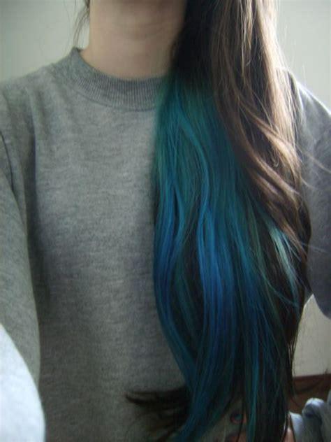 Under Layer Of Hair Dyed Blue Hair Envy Pinterest
