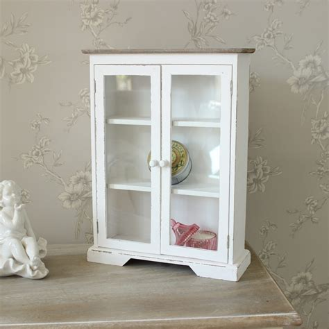 white wooden glazed display cabinet melody maison