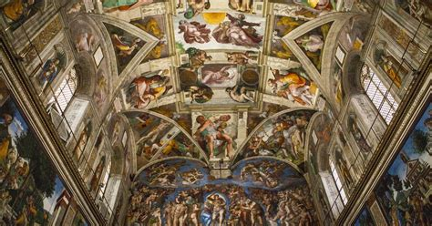 Painted The Ceiling Of The Sistine Chapel In Rome by Who Painted The Sistine Chapel Worldatlas