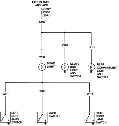 Ford Dome Light Wiring Diagram Diagrams