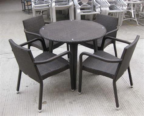 rattan wicker furniture starbucks stackable chair s216