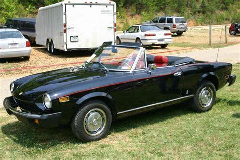 fiat spider 1978 1978 fiat 124 spider sports car