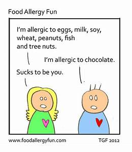 Food Allergy Fun: Sucks to be You - Cartoon