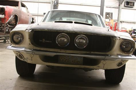 Barn Find 1967 Shelby Mustang Gt500 In Death Valley