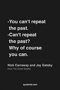 Nick Carraway Q... Happy Gatsby Quotes