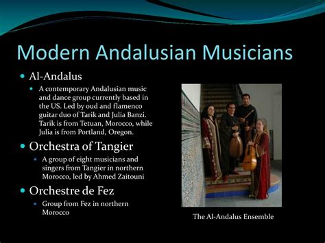 andalusian music classical modern ppt powerpoint presentation