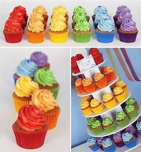 Little Petit Gateau Lyon : sweet table 1 arc en ciel et nuages little petits g teaux cupcakes lyon salon de th ~ Nature-et-papiers.com Idées de Décoration
