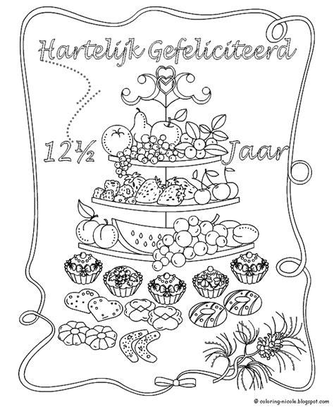 5 Jaar Samen Met Vriend Kleurplaat by Trouwen 12 189 Jarig Huwelijk Kleurplaten