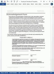 employee handbook template word beepmunk With company handbook template