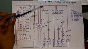Skm Packaged Air Conditioning Units Control Wiring Diagram In Hindi   Part- 1