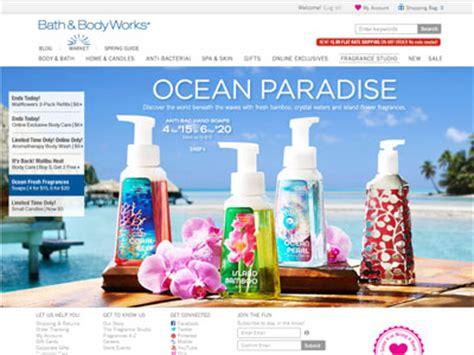 And Bath Collection Website by Bath Works Paradise Bath Fragrance
