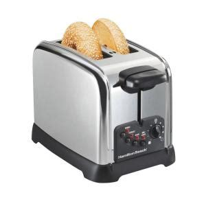 Toaster Specials by Hamilton 2 Slice Chrome Toaster 22790 The Home Depot