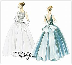 vintage dress pattern newhairstylesformen2014com With vintage wedding dress patterns