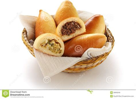 Piroshki, Pirozhki, Russian Food Stock Image   Image of