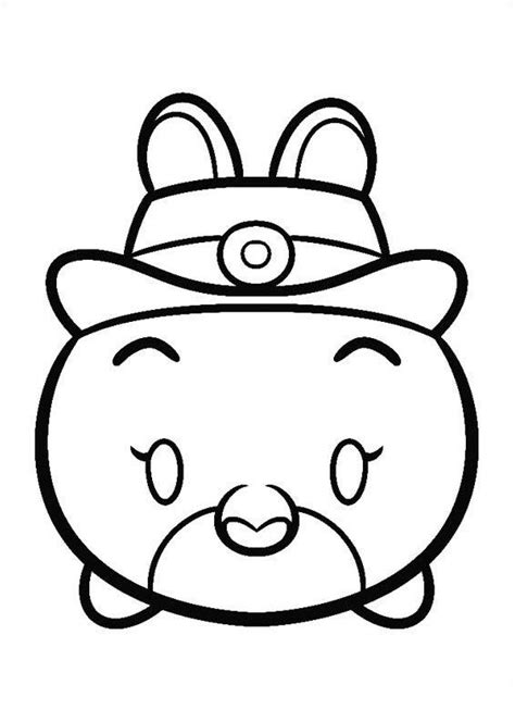 coloring pages  tsum tsum  kids  funcouk