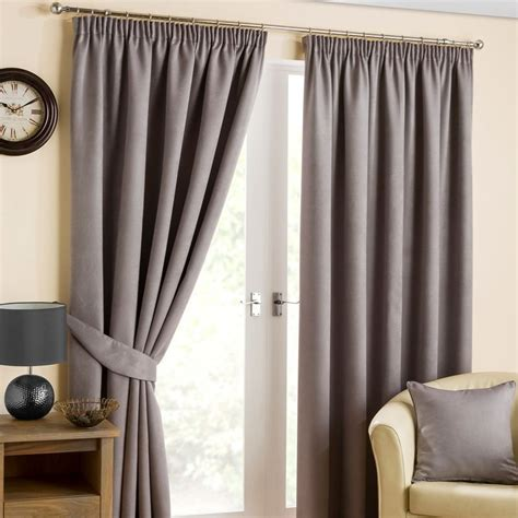 fusion belvedere black out curtains 45 quot width x 54 quot drop