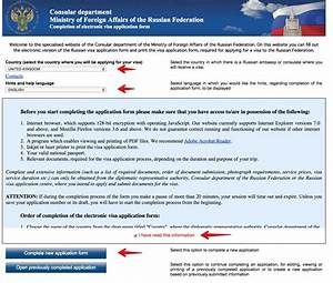 how to obtain a russian visa in an easy and cost effective With documents checklist for uk visa