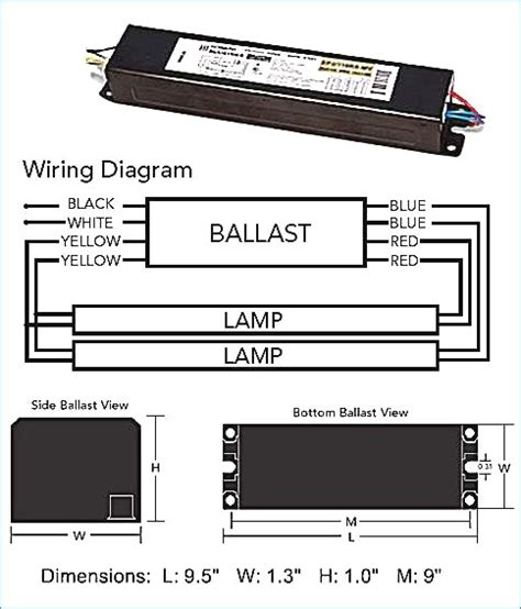 2 l t12 ballast wiring diagram collection wiring